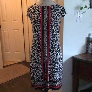 Madison Leigh Animal Print Dress